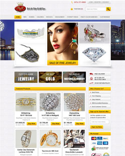 Jwellery ecommerce Website Design